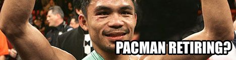 pacman retiring?