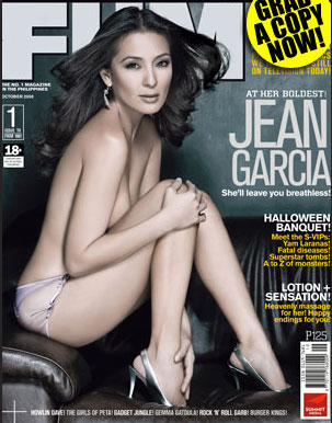 More Jean Garcia FHM Philippines pics once available.