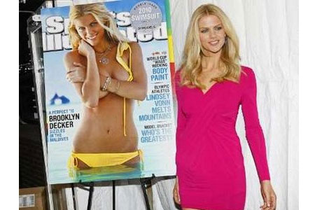 brooklyn decker SI swimsuit cover