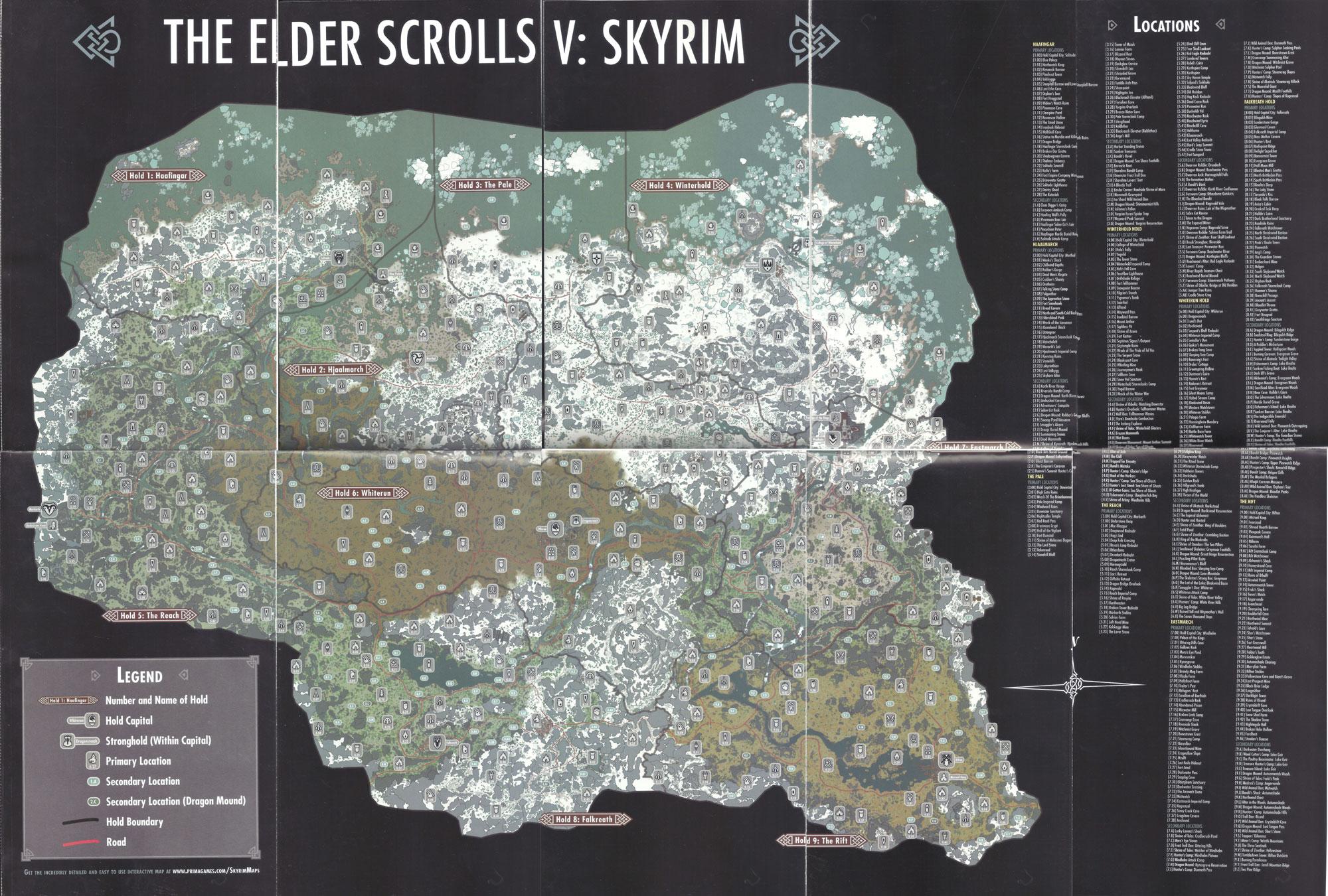 SKYRIMfullmap