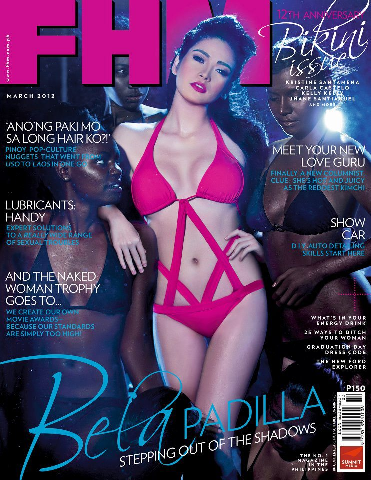 More FHM Magazine Philippines Cover Girls and about Bela Padilla soon