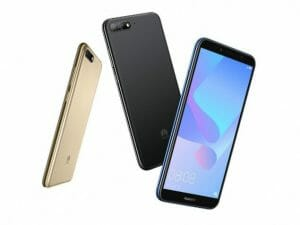 Huawei Y6 2018 mobile phone photo