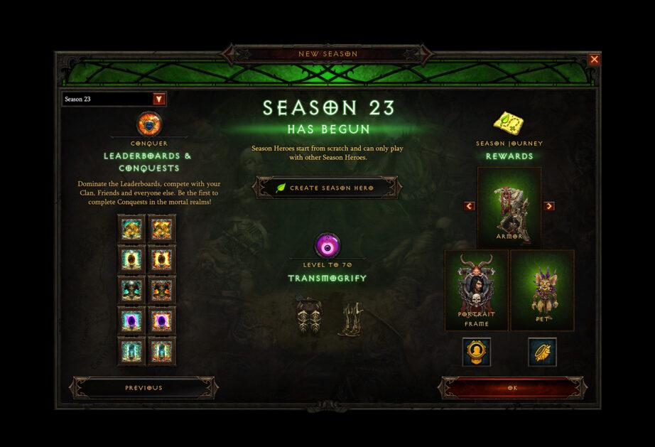 Diablo 3 Season 23 Patch 2.7